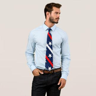 Gravata Bandeira dos Estados Unidos