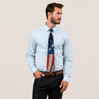 Gravata Bandeira dos Estados Unidos da América