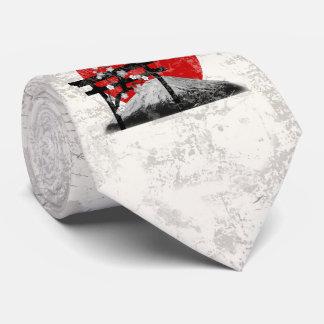 Gravata Bandeira e símbolos de Japão ID153