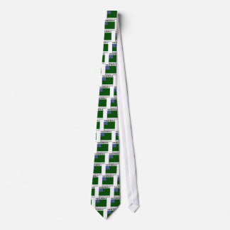 Gravata Bandeira verde dos meninos da montanha da