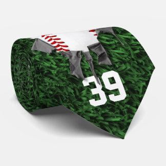 Gravata Basebol rasgado (personalizado)