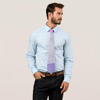 Gravata bloco roxo cor-de-rosa de mármore roxo elegante da