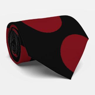 Gravata Bolas vermelhas