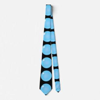 Gravata Bolha do azul da comida do pulso aleatório