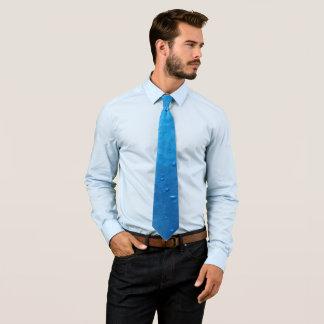 Gravata Bolhas azuis