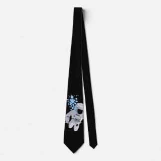 Gravata Bolhas no laço do espaço