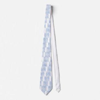 Gravata Bolinhas azuis