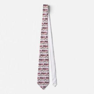Gravata Bolo da Floresta Negra em detalhe com fundo branco
