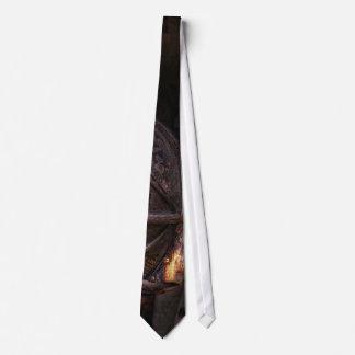 Gravata Bombeiro - vestido e usado