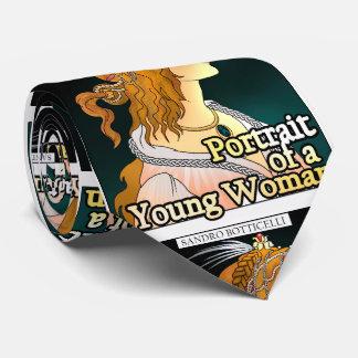 Gravata Botticelli. Retrato de um laço da mulher
