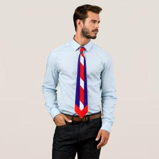 Gravata Brancas vermelho & azul (cores dos EUA)