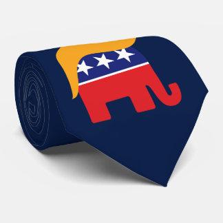 Gravata Cabelo do elefante do GOP do presidente Donald