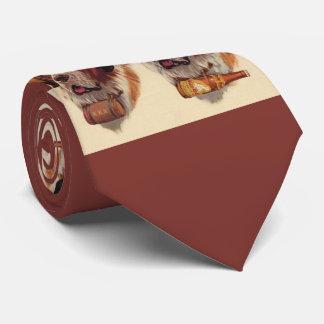 Gravata cães do St. Bernards do gêmeo idêntico