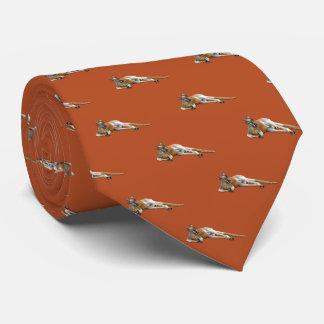 Gravata Canguru vermelho no chapéu de Slouch