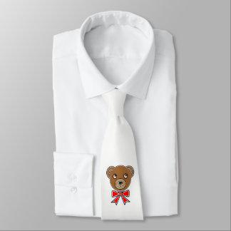 Gravata Cara engraçada do urso