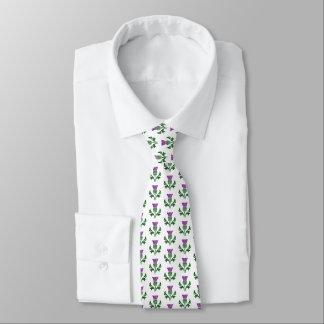 Gravata Cardo escocês do emblema