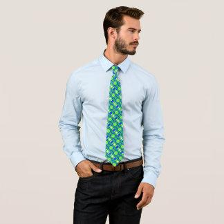 Gravata Cetim verde reflexivo do Foulard do flashback