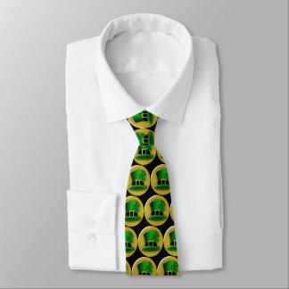 Gravata Chapéu verde do Leprechaun do Dia de São Patrício