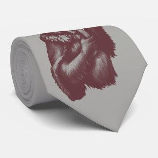 Gravata Chimpin grande (monocromático)