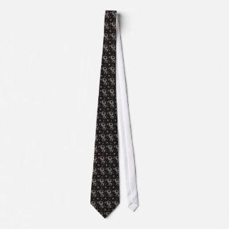 Gravata Chinese botanical pattern tie - black