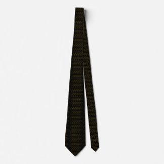 Gravata Chique na moda modelado elegante do preto do ouro