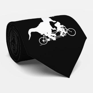 Gravata Ciclismo ido de Squatchin com T-rex