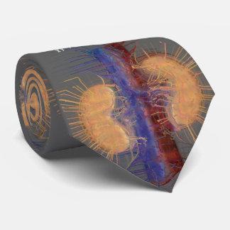 Gravata Cinza artística original do design do rim do laço