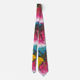 Gravata Colora Chasmic 2, artístico, aguarela, pintando