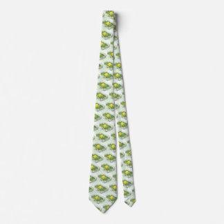 Gravata Comida do vintage, caçarola do feijão verde com