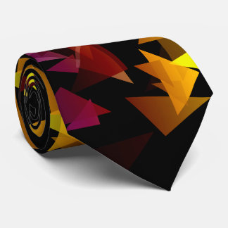 Gravata Confetes Multi-Coloridos abstrato