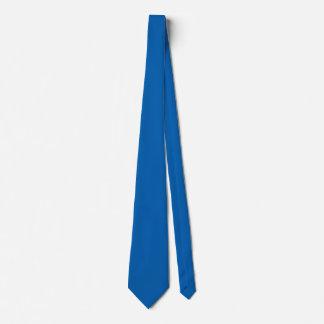 Gravata Cor azul vivamente impressionante
