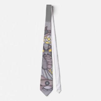 Gravata Coruja de Steampunk