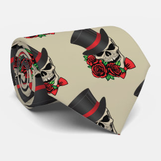 Gravata Crânio do cavalheiro