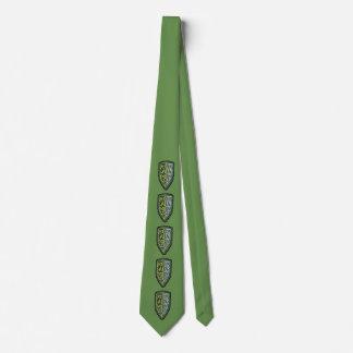 Gravata Crista do laço do protetor da grama no verde