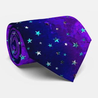 Gravata Da noite bonita da galáxia do espaço imagem