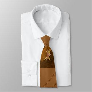 Gravata de Brown da dança de salão de baile