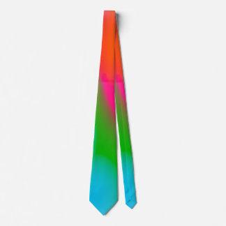 Gravata de néon das aguarelas do sorvete