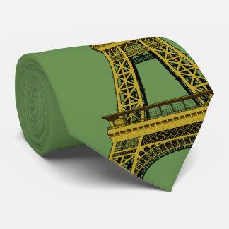 Gravata Decoração e torre Eiffel do Natal