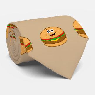 Gravata Desenhos animados do cheeseburger
