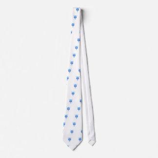 Gravata Design bonito estrangeiro no azul