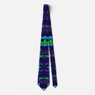 Gravata Design contemporâneo à moda azul na moda