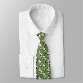 Gravata Design do cone do sorvete