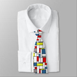 Gravata Design do estilo de Mondrian