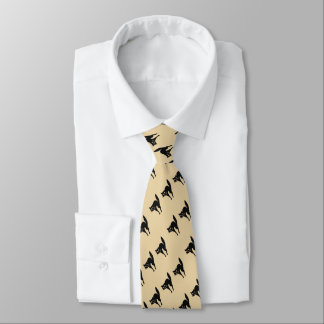 Gravata design irritado engraçado do Dia das Bruxas do