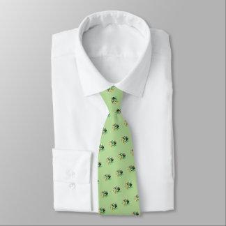 "Gravata Do ""Leprechauns"" St Patrick vôo (luz - verde)"