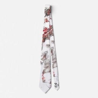 Gravata do Wolfhound da flor de cerejeira