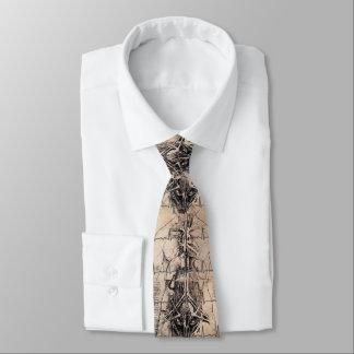Gravata Doutores Arte Anatomia por Leonardo da Vinci