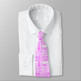 Gravata Efeito cor-de-rosa dos azulejos