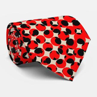 Gravata Elegante branco-amarelado vermelho preto