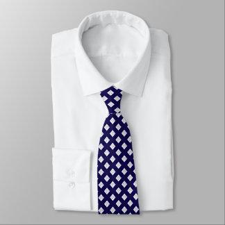 gravata elegante formal dos azuis marinhos brancos